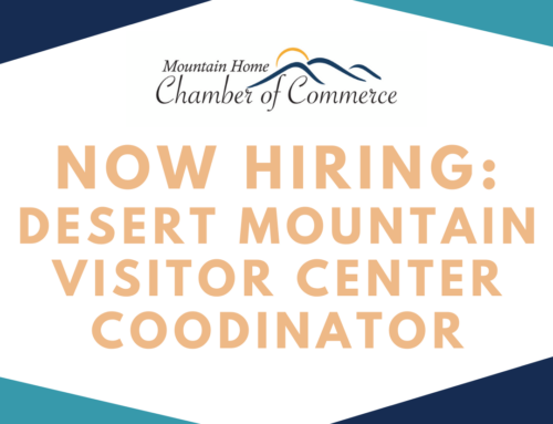 Now Hiring: Visitor Center Coordinator