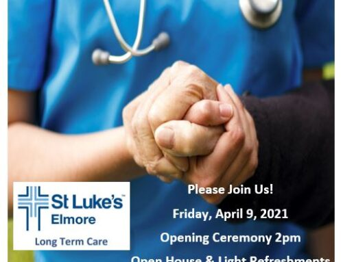 St. Luke's Elmore celebrating the Long Term Care South Wing