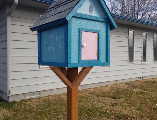 Imagine Mountain Home Installs Neighborhood Book Boxes
