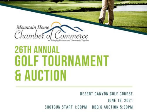Seeking Golf Tournament Sponsors & Auction Items